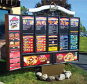 Taco Bell / Pizza Hut Outdoor Menuboards