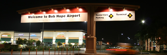 Bob Hope Airport Outdoor Sign