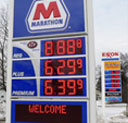 Gas Pricing Electronic Display